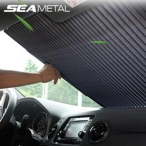 Parasol Auto Sun Shade Cover Universal Car Window Sunshade Front Windshield Protector Sun UV Interior Car Windscreen Accessories