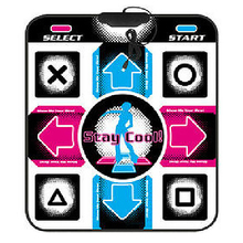 Video Arcade Dance Gaming Mats Non-Slip Dancing Step Mat Pads To PC USB #5