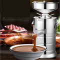 Полностью автоматическая мельница арахисовое масло тахини орех соус какао соус измельчитель порошок машина для переработки