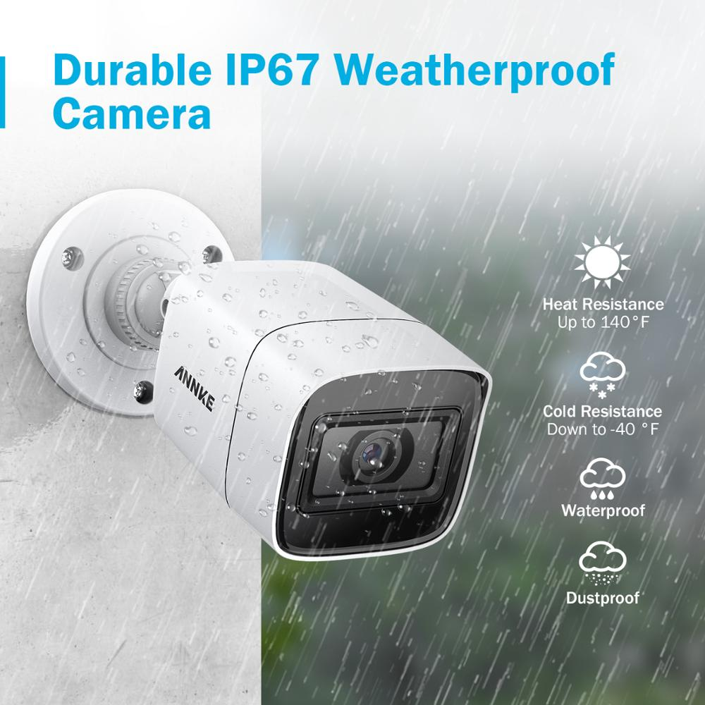 Image 5 - ANNKE 4pcs 4K HD IP67 Weatherproof Cameras Kit Indoor Outdoor Analog CCT Security Camera-in Surveillance Cameras from Security & Protection