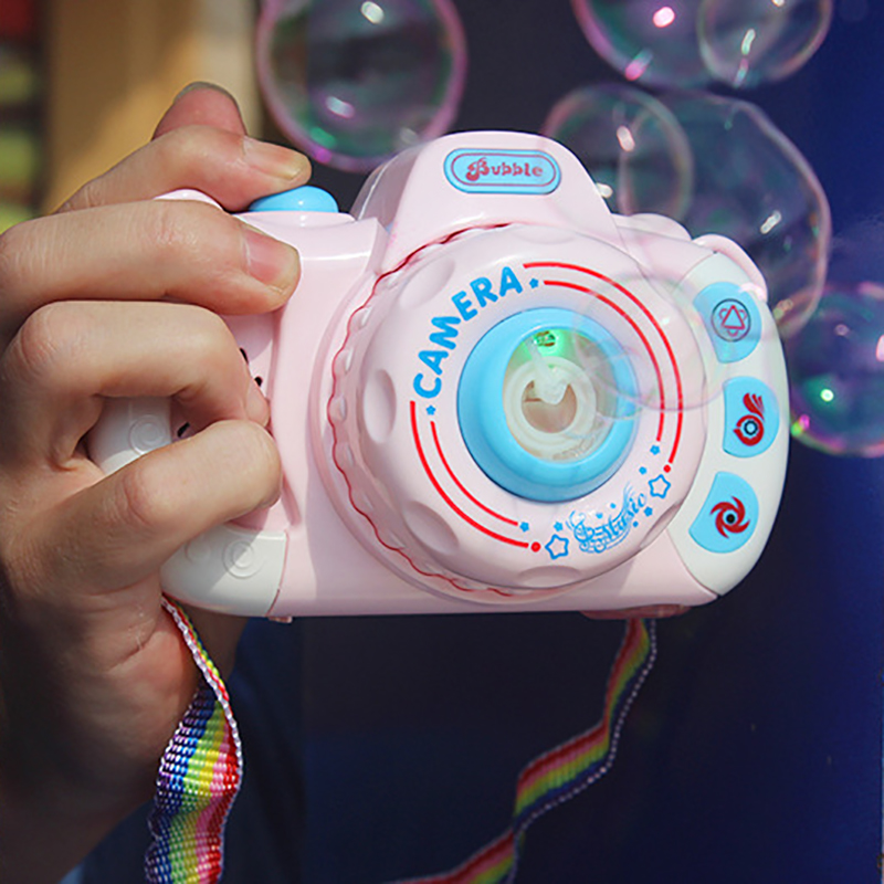 Baby Toys Children Cartoon Bubble Machine Camera Photography Training Auto Educational Toys Baby Products Montessori Gifts