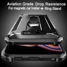 Aviation shockproof Ring Stand Phone Case For Samsu