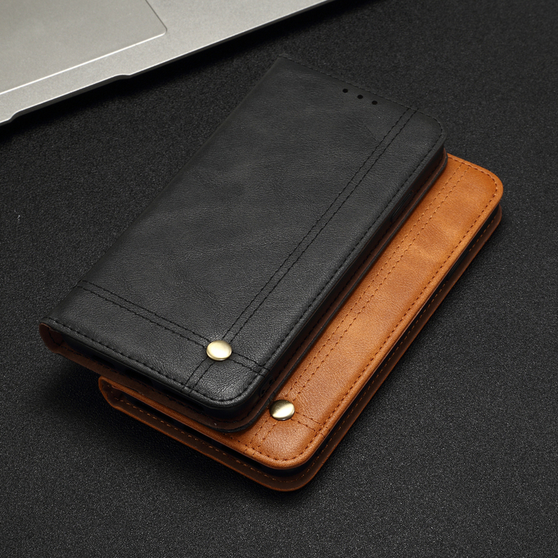 Ha27133ad7b734e3aa849a7211bad69a6S Luxury Retro Slim Leather Flip Cover For Xiaomi Redmi Note 8 / 8T / 8 Pro Case Wallet Card Stand Magnetic Book Cover Phone Case