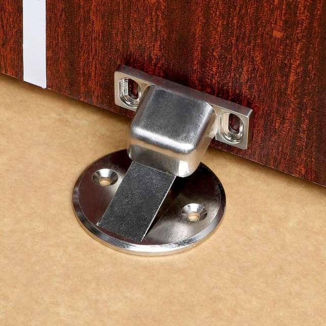 Home Improvement Magnetic Door Stop Stainless Steel