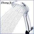 5 режимов ABS пластиковая душевая головка для ванной комнаты большая панель круглая хромированная дождевая Насадка для воды классический ди...
