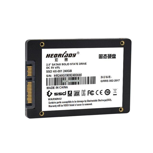 """heoriady HDD SSD 120GB 128GB 240GB 256GB 500GB 512GB 1TB 2t sata3 Hard Drive Disk Disc Solid State Disks 2.5 """" laptop Desktop pc 2"""