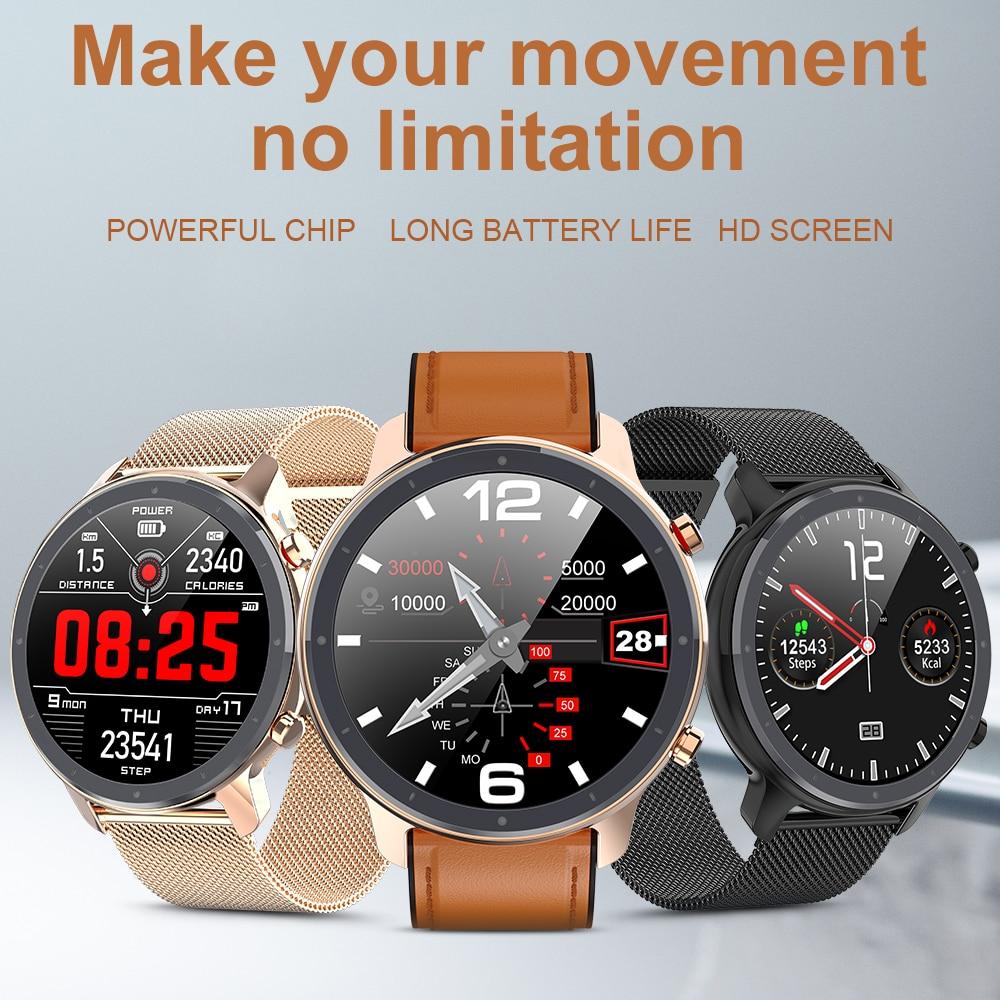 Montre intelligente numérique mode hommes affaires montre-Bracelet rappel d'appel de luxe moniteur de sommeil Bracelet musique à distance Smartwatch pour homme 3