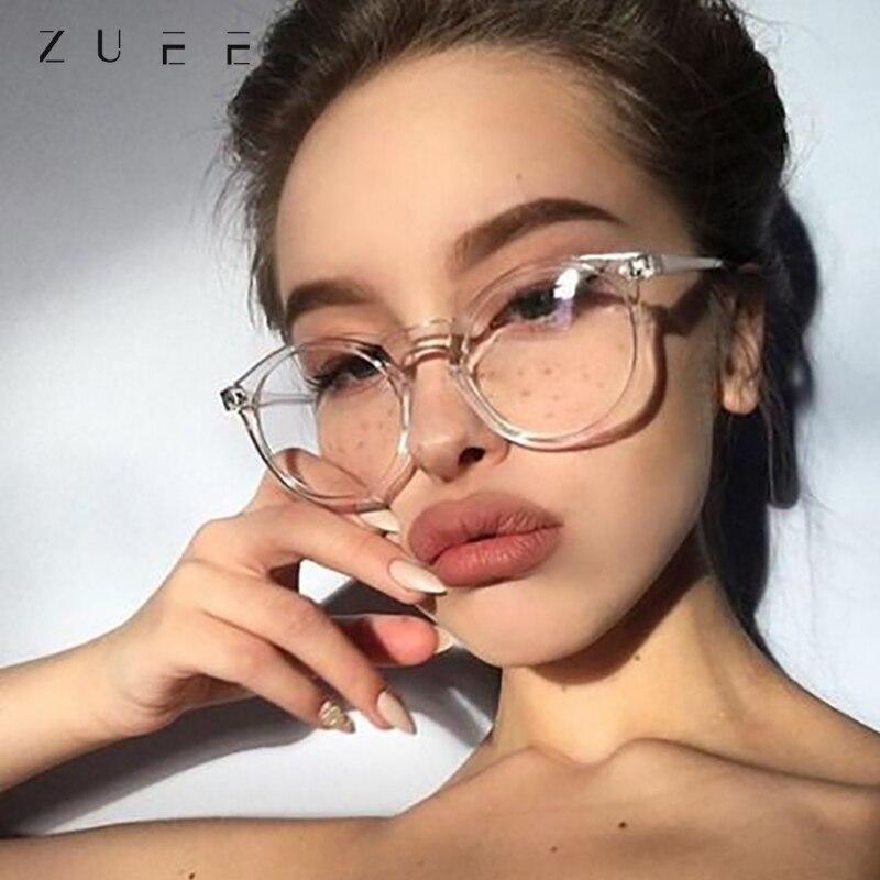 Очки ZUEE с голусветильник, прозрачные стандартные Модные женские/мужские очки, улучшающие комфорт, очки с защитой от синего света|Мужские очки для чтения| | АлиЭкспресс