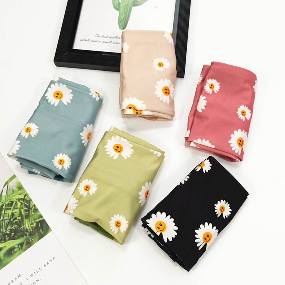 New Summer Ice Silk Sun Protection Arm Sleeve Women Students Small Daisies Outdoors Ridings  UV Protection Arm Sleeve Gloves
