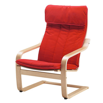 Bonn Leisure Chair Lazy Sofa Chair Removable Washing Cloth Art Single Simple Armchair Bedroom Children's Chair