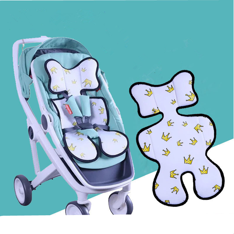1PC Breathable Baby Stroller Cushion Soft Car Seat Liner Mat Pram Pad Pure Color