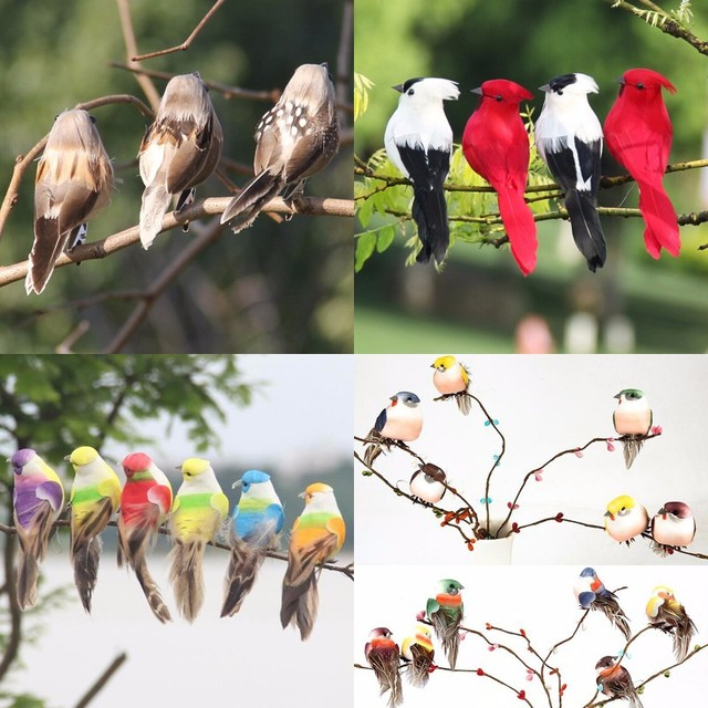 Colorful Bird Ornament For Home & Garden 1