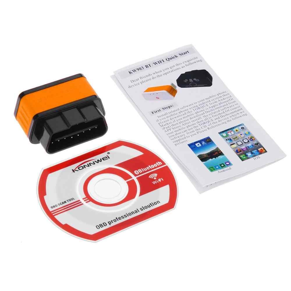 PIC18F25K80 KW903 ELM327 Wifi V1.5 OBD2 Scanner Auto Diagnostische Adapter Voor Renault Acura Infiniti Opel Suzuki