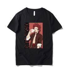 Alta qualidade dos homens t camisa verão casual tshirt anime boku nenhum herói academia kirishima eijiro impresso camisetas unissex 100% algodão