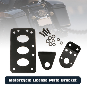 Image 3 - Montura de placa de matrícula para motocicleta soporte de placa de matrícula para Honda KTM, Yamaha, Etc, accesorios de motocicleta