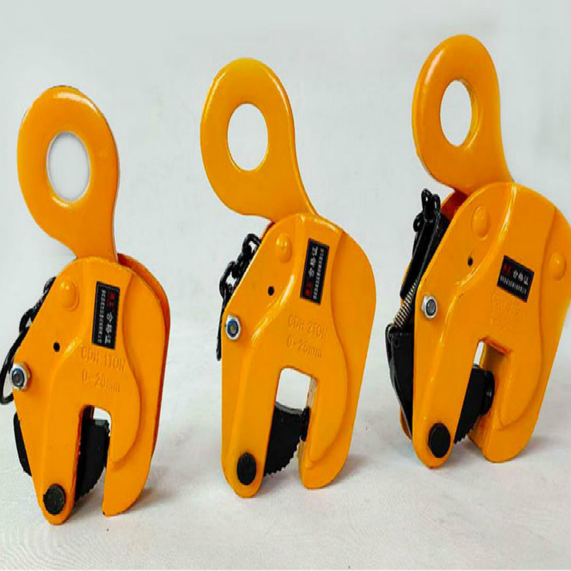 Vertical Style Lifting Clamp Lifting Pliers  Steel Sheet Glass Lifter Crane Pliers 1T 2T 3.2T 5T 8T Free Shipping