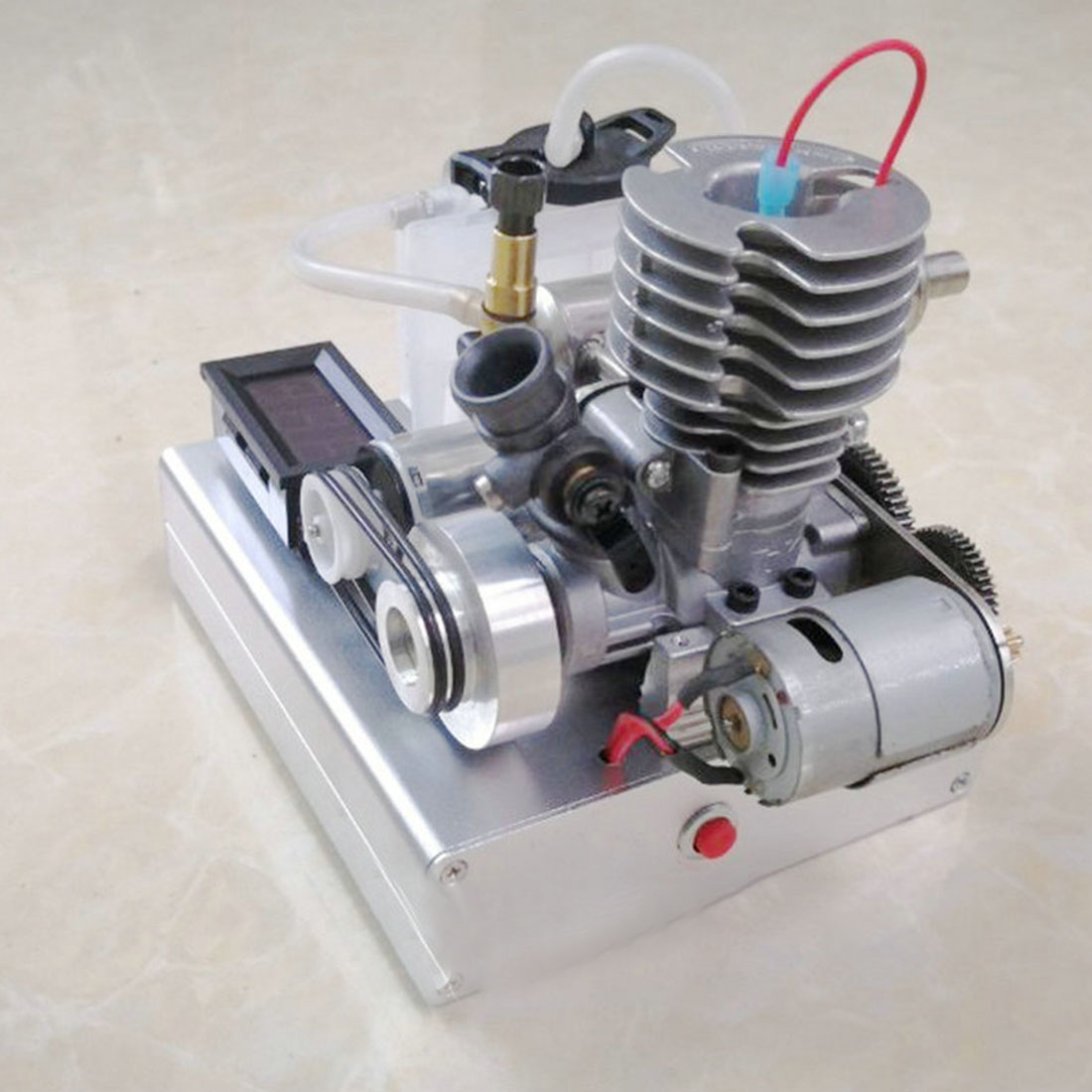 One-Button Start Methanol Low Pressure Engine Level 15 Methanol Engine (Finished Product)Model Educational Toy Gift For Children