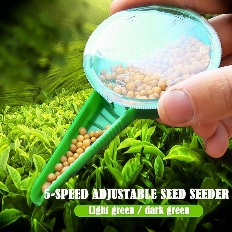 Seed Dispenser Sower Seed Spreaders Planter Garden Tool 2Pcs