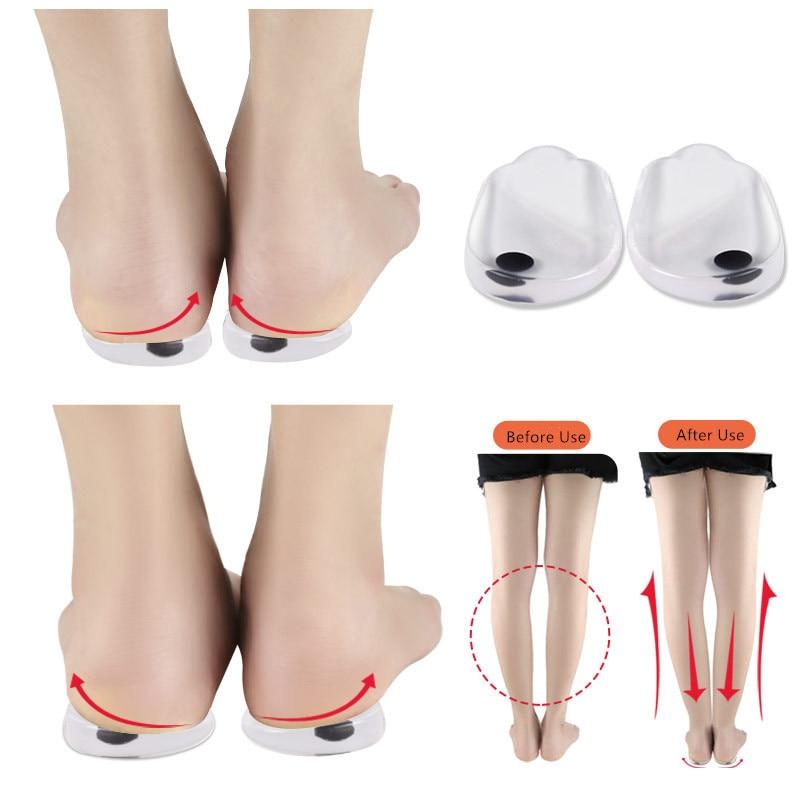 O-Leg Orthopedic Heel Insoles Correct O-leg X-leg Splay Foot Men/Women Magnet Orthotics Shoes Pad Create Beauty Leg Feet Care