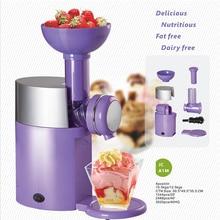 Electric-Ice-Cream-Machine Fruit DIY Household 220V Good-Quality LQRIRIDE