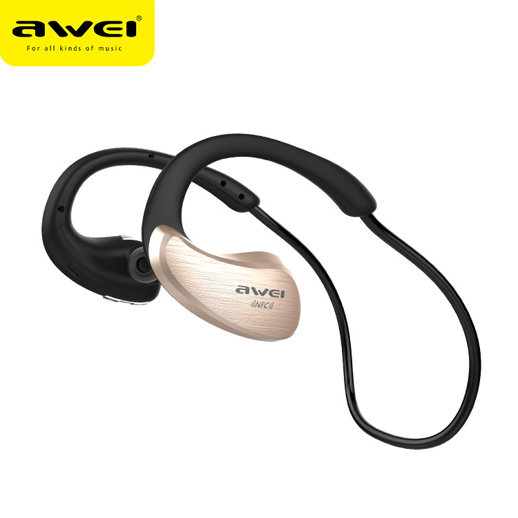 Awei A885BL Portable Wireless Bluetooth Earphone HIFI Stereo Waterproof Noise Reduction  NFC