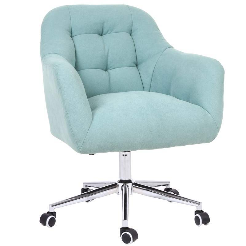 H1 Computer Chair Household Comfortable Fabric Sofa Chair Leisure Bedroom Desk Chair Lifting Rotary Office Net Red Chair Cheap