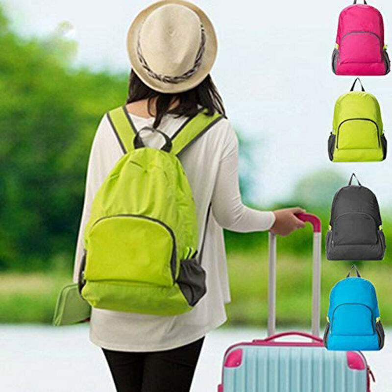 Unisex Foldable Outdoor Sport Hiking Camping Travel Backpack Daypack Rucksack Bag Cycling Camping Sport Hiking Rucksack