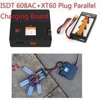 Isdt 608ac 50w dc 200w 8a battgo carregador de bateria inteligente descarregador com fonte alimentação destacável