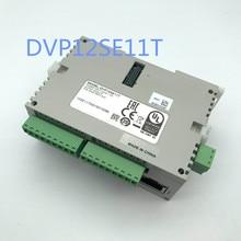 Original Full New SE series PLC programmable controller DVP12SE11T NPN transistor 8DI 4DO 3 COM Mini USB/RS485x2/Ethernet