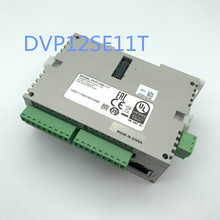 Oryginalny pełny nowy programowalny sterownik plc serii SE DVP12SE11T tranzystor npn 8DI 4DO 3 COM Mini USB/RS485x2/Ethernet