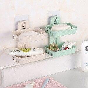 Кухонные принадлежности, инструменты, мыло, посуда, коробка, настенный держатель для ванной комнаты, двухслойная корзина для хранения, полк...