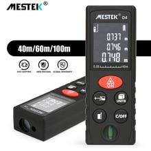 Mestek レーザー距離計 40 メートル 60 メートル 100 メートル距離計 trena レーザーテープ範囲ファインダー構築測定装置定規テストツール