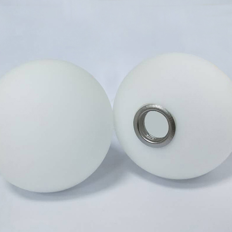 Modern And Simple Round Ball High Quality Glass Material High Temperature Explosion-proof Non-deformation Milk White Glass Lamps