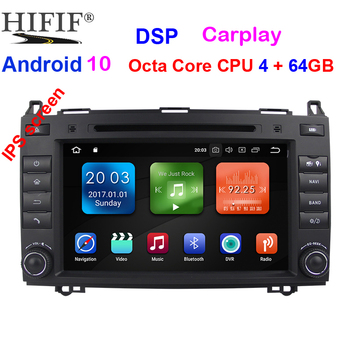 8IPS Touch Screen Android 10 Car DVD Player for Mercedes-benz B200 W169 A160 Viano Vito GPS NAVI RADIO BT wifi 3G dvr free map image