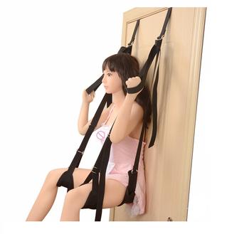 Huśtawka drzwiowa huśtawka erotyczna SM gra Bondage huśtawka rozrzutnik noga otwarta dla kobiet dorosła gra erotyczna produkty dla pary huśtawka erotyczna tanie i dobre opinie CN (pochodzenie) NYLON Zestawy z seks-zabawkami