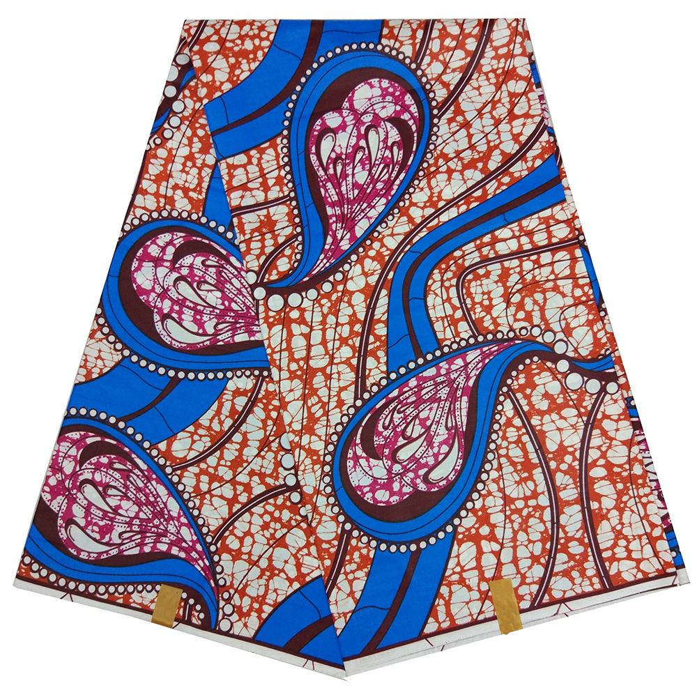 100% Cotton High Quality Ankara Dutch Wax African Print 2019 New Design For Women
