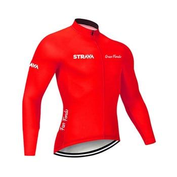 2019 strava outono manga longa camisa de ciclismo conjunto bib calças ropa ciclismo roupas de bicicleta mtb camisa uniforme roupas masculinas 18