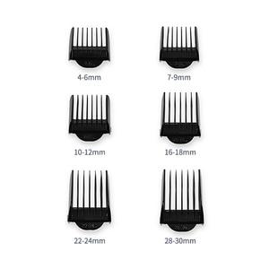 Image 5 - מקצועי שיער גוזם לגברים נטענת חשמלי שיער קליפר עם גבול קומבס אורך מתכוונן קרמיקה להב 35