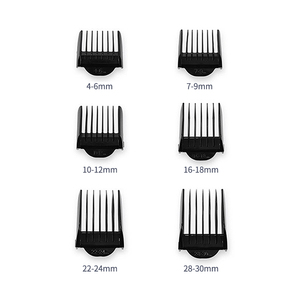 Image 5 - Professional Hair Trimmer for Men Rechargeable Electric Hair Clipper with Limit Combs Length Adjustable Ceramic Blade 35