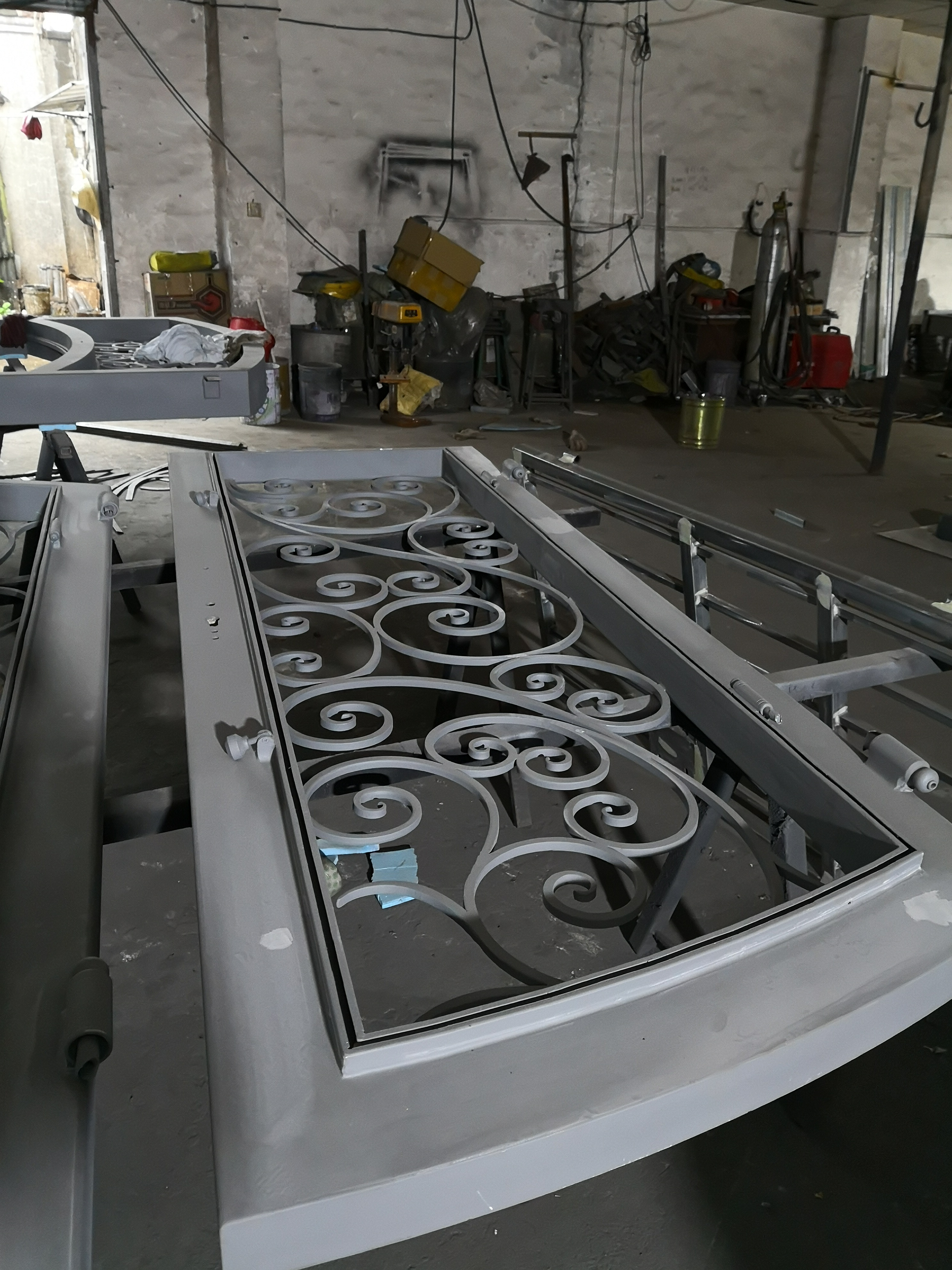 Hench 100% Steel Iron Doors  Model Hc-id103