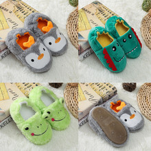 Buy MUQGEW Print Cartoon Slippers Shoes 2019 New Toddler Infant Kids Baby Warm Shoes Boys Girls Soft-Soled Slippers sapato infantil directly from merchant!