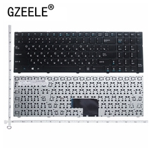 GZEELE Russian RU Keyboard for DNS Pegatron C15 C15A C15E C17A C15B 0KN0 CN4RU12 MP 13A83SU 5283 0803498 KLAVYE PG C1 with frame