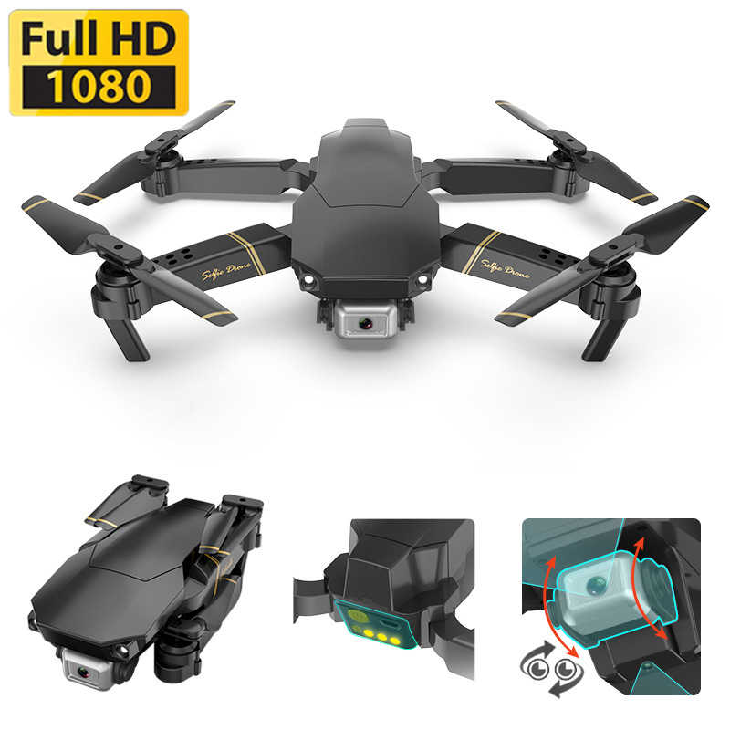 1080P Drone X PRO Global Drone EXA GD89 dengan Kamera HD Video Seluruh Helikopter RC FPV Quadrocopter drone Vs Drone E58