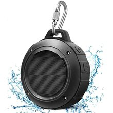 IPX6 مقاوم للماء سمّاعات بلوتوث دش المتكلم مكبر صوت لاسلكي بالبلوتوث مكبر صوت مع ميكروفون HIFI باس الصوت الموسيقى العمود
