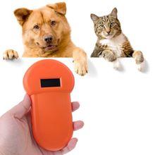 Evcil hayvan kimlik okuyucu hayvan çip dijital tarayıcı USB şarj edilebilir mikroçip el tanımlama genel uygulama