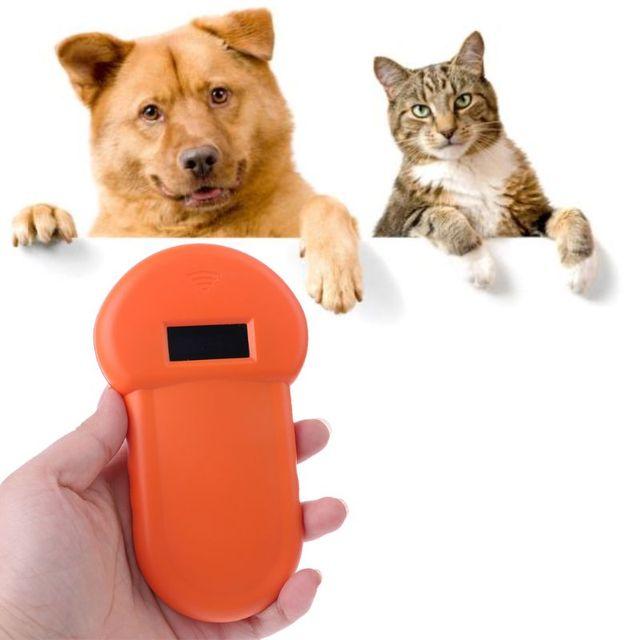 Lector de identificación de mascotas, escáner Digital de Chip Animal, Microchip recargable por USB, identificación manual, APLICACIÓN General