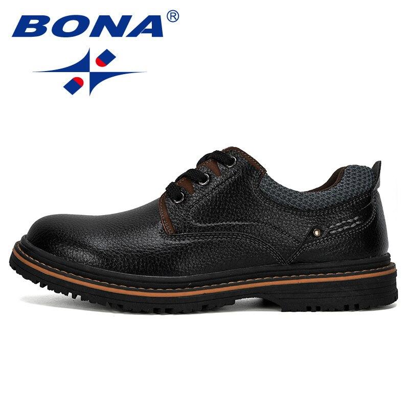 Designer Menl Leather Shoes Men Lace Up