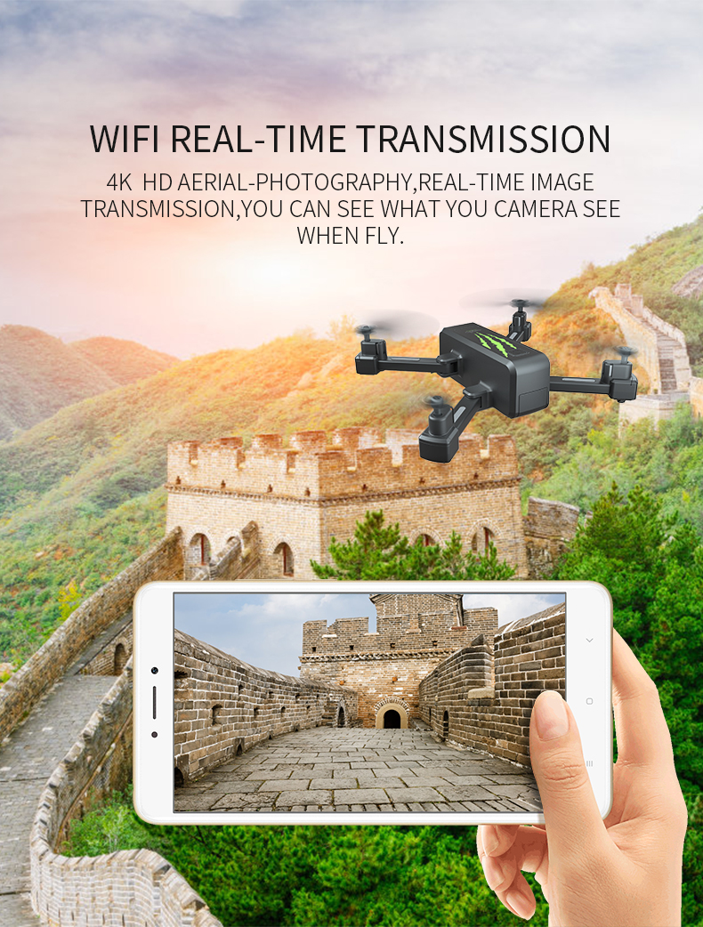 SHAREFUNBAY drone GPS 4K HD 5G WIFI FPV drone ESC camera height keep flight for 20 minutes  distance control 26