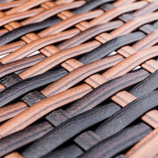 Coffee Table w/  Weaving Rattan  6