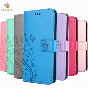 Luxury Flip Phone Case For Samsung Galaxy S8 S9 Plus S10E Lite S20 Ultra S4 S5 S6 S7 Edge Leather Holder Card Slots Wallet Cover